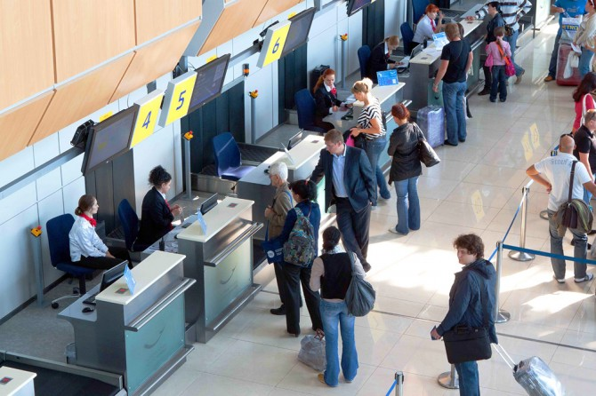 Passenger flow of Kharkov airport exceeds the previous year's one in 1.5 times